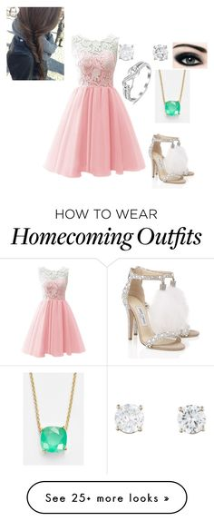 """My Prom, My Way"" by sylvialovesliampayneand5sos on Polyvore featuring Jimmy Choo and Kate Spade"