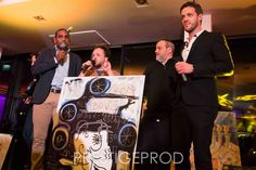 """My painting """"Dreaming my Dreams"""" sold during the Charity gala in favor of the association Le Silence des Justes for autistic children. It was a great evening.    Many thanks to Cecile Collot, Stéphane Benhamou, Jennifer Libraty, Arié Elmaleh, Ary Abittan, Olivier Nakache, Eric Tolédano and all the others. Thanks to Loup-Denis Elion and Romain Lancry for their energy on stage and especially to Géraldine Nakache for her kind words."""