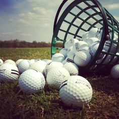 Driving range + 72 degrees = perfection. #Golf