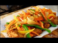 Jamaican Escovitch Fish, part 2 (dressing) - YouTube