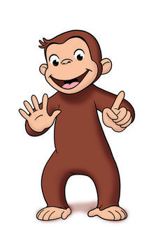 free printable monkey clip art curious george clipart quality rh pinterest com curious george clipart black and white curious george clipart black and white