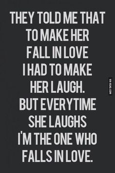 Fall in love - Quotes - The Way It Should Be
