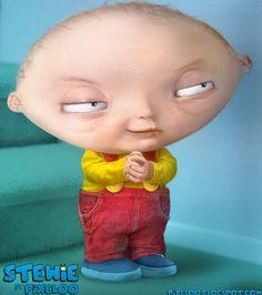 Family Guy Stewie in 3D