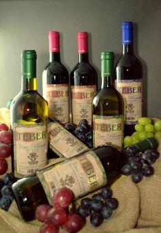 Las 7 variedades de vino TEBER www.vicosacr.com