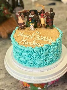 Image result for moana birthday cake