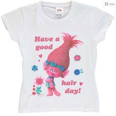 3066acf2e Character Trolls Glitter T Shirt Infant Girls Nike Swoosh Logo, Nike Kids, Infant  Girls