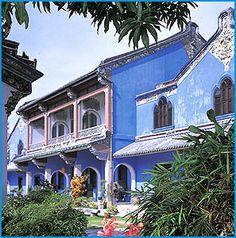 Cheong Fatt Tze Mansion - In Penang. I've visited this place but never stayed here. Such a cool hotel.