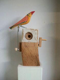 Jane Ryan OPI - wooden crank toy