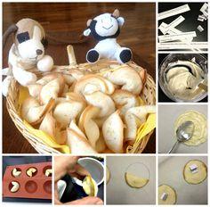 Súper divertidas! Galletas de la suerte y la fortuna ! Http://recetasysonrisas.blogspot.com.es/