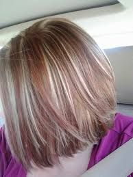 Image result for red highlights in dirty blonde hair