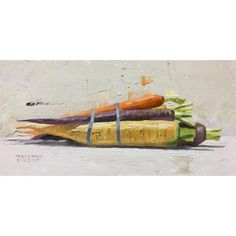 Colored carrots, My kids picked these out. Kid Picks, Food Art, Carrots, Kids, Painting, Color, Image, Instagram, Young Children