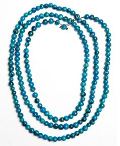 Brightly Colored Acai Rope Necklace (Turquoise)   Noonday Collection $45 -- this stylish purchase helps support women in Ecuador