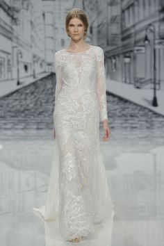 Justin Alexander. Credits: Barcelona Bridal Fashion Week