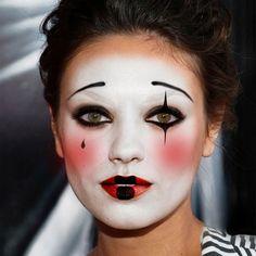 Εύκολο Αποκριάτικο Μακιγιάζ: Μίμος / Easy Halloween MakeUp: Mime