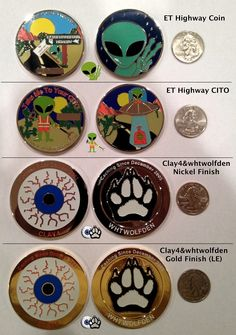 etgeocaching.com - GEOCOINS. Met these guys at my first event yesterday (Vegas geo-poker run).  Really looking forward to the ET Highway in Rachel, NV in May!