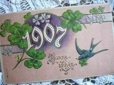ツバメのポストカード①|~ma boîte aux trésors~