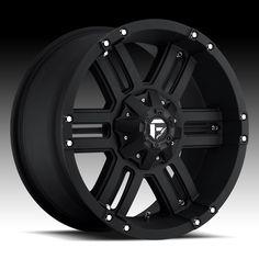Fuel Off-Road Wheels Gauge- 18 inch 18x9.0 Black Rims