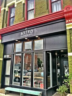 Astro Coffee in Corktown, Detroit... order their flat white, one of the best coffees I've ever had!