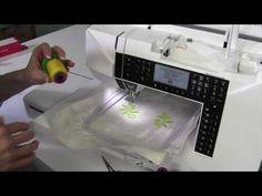 Husqvarna Viking Jade 35 51 Embroidering a Design from Start to Finish Husqvarna Sewing Machine, Viking Sewing Machine, Vikings, Jade, Make It Yourself, Youtube, Embroidery, Design, The Vikings