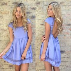 dress dress, blue, backless, purpledress