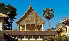 Phathat Luang, Vientián, Laos
