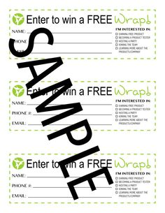 Use these lead slips at wrap parties to do a door prize drawing, or set them out at a vendor event! Such a fun way to bring in those leads! With the Im interested in.. checkboxes...you will know whether they are a potential distributor or loyal customer! Instant PDF download upon purchase!  PAGE SIZE:  This document is sized 8.5 x 11 and can be used in a standard 3-ring binder, etc.  PRINTING YOUR DOCUMENT:  These pages are designed to be printed borderless on standard 8.5 x 11 letter size…