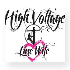 line wife decal | Power Lineman Stickers