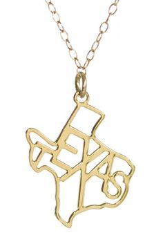 Seriously ordering this right now. Kris Nations Texas Necklace