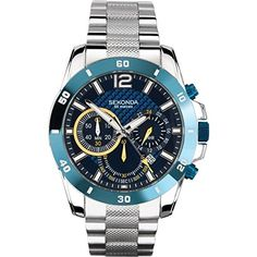 Sekonda Mens Chronograph Watch - 3484 http://www.thesterlingsilver.com/product/bering-time-mens-chronograph-watch/