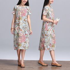 331cb2b265ffa White cotton shift dress for summer plus size sundress fine cotton dotted  embroidery