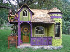 Outdoors Fun Playhouse For Kids 3409