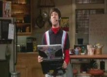"""""""I AM THE SWORD MASTER!!!!!"""" - Howard, TBBT <3 this show"""