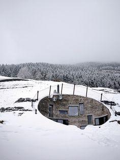 Cabin in a mountain