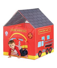 Look at this Fire Station Tent on #zulily today!