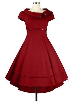 Retro  Dress Chic Star Design by Amber Middaugh and  Guylian K
