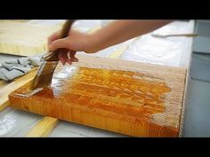 Butcher Block End Grain Cutting Board, by Larch Wood ▶ How to Make End Grain Cutting Boards | Où se trouve: Larch Wood - YouTube