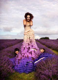 Wonderland the Lavender Princess Kirsty Mitchell Photography