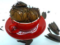 Σορμπέ νηστίσιμο με σοκολάτα και κακάο | ION Sweets Tea Cups, Sweets, Tableware, Recipes, Dinnerware, Gummi Candy, Candy, Tablewares, Recipies