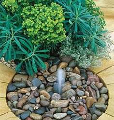 Interactive water feature? Simple, could be fit into a patio