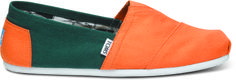Toms are ugly and dumb and not as charitable as they want you to believe... but these are legit #gocanes