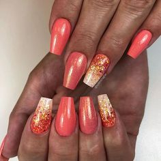 Summer Peach Ombre For Short Coffin Nails ❤ 35+ Outstanding Short Coffin Nails Design Ideas For All Tastes ❤ See more ideas on our blog!! #naildesignsjournal #nails #nailart #naildesigns #nailshapes #coffinnails #ballerinanailshape #shortcoffinnails Trendy Nails, Cute Nails, Nail Tips, Nail Ideas, Ballerina Nails Shape, Kane Brown, Nails Design With Rhinestones, Coffin Shape Nails, Beautiful Nail Art