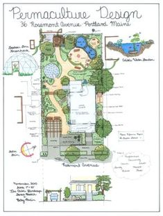 permaculture design examples - Google Search