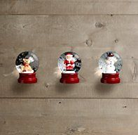 Mini Snow Globes (Set of 3) stocking stuffer?