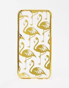 Skinny Dip – Flamingo Gold Chrome – iPhone 6-Hülle