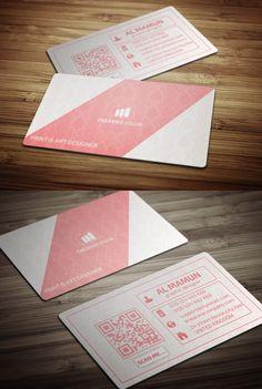 Creative Business Card Template (Freebie) #freebies #businesscardtemplates #businesscardmockup #psdtemplates #freebusinesscards