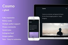Cosmo - Dark Ghost Theme by byfortress on @Graphicsauthor