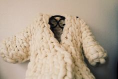 swagger coat // super chunky wool coat // thick warm coat on Etsy, $600.00