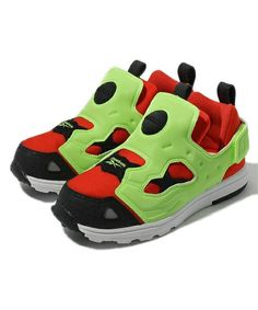 Reebok Versa Pump Fury for babies. Another pair of cool kicks for my son.