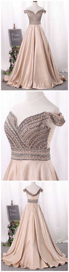 prom dresses long,prom dresses modest,prom dresses off shoulder,prom dresses beading,prom dresses cheap,prom dresses champagne,beautiful prom dresses,prom dresses 2018,prom dresses aline   #amyprom #longpromdress #fashion #champagne #prom #formal