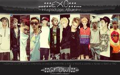 Free Download  EXO Growl Teaser Wallpaper Full HD 2013